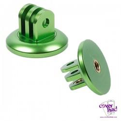 Adattatore Treppiede in alluminio per GoPro - Verde