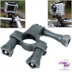 Attacco da Manubrio Moto/Bici per GoPro - Grigio