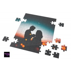 Puzzle COUPLE IN LOVE - A4 20x30cm