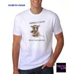 "T-Shirt by TWENTY-FOUR - ""Abbaracciami"" Lemure"