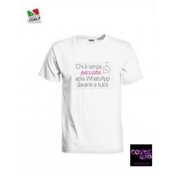 T-shirt CHI E SENZA PECCATO