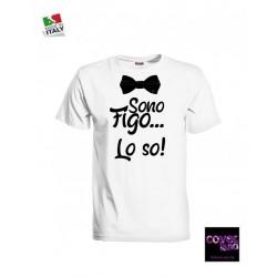 T-shirt SONO FIGO LO SO