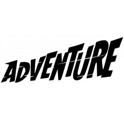 Adesivo 2X ADVENTURE - MOTO
