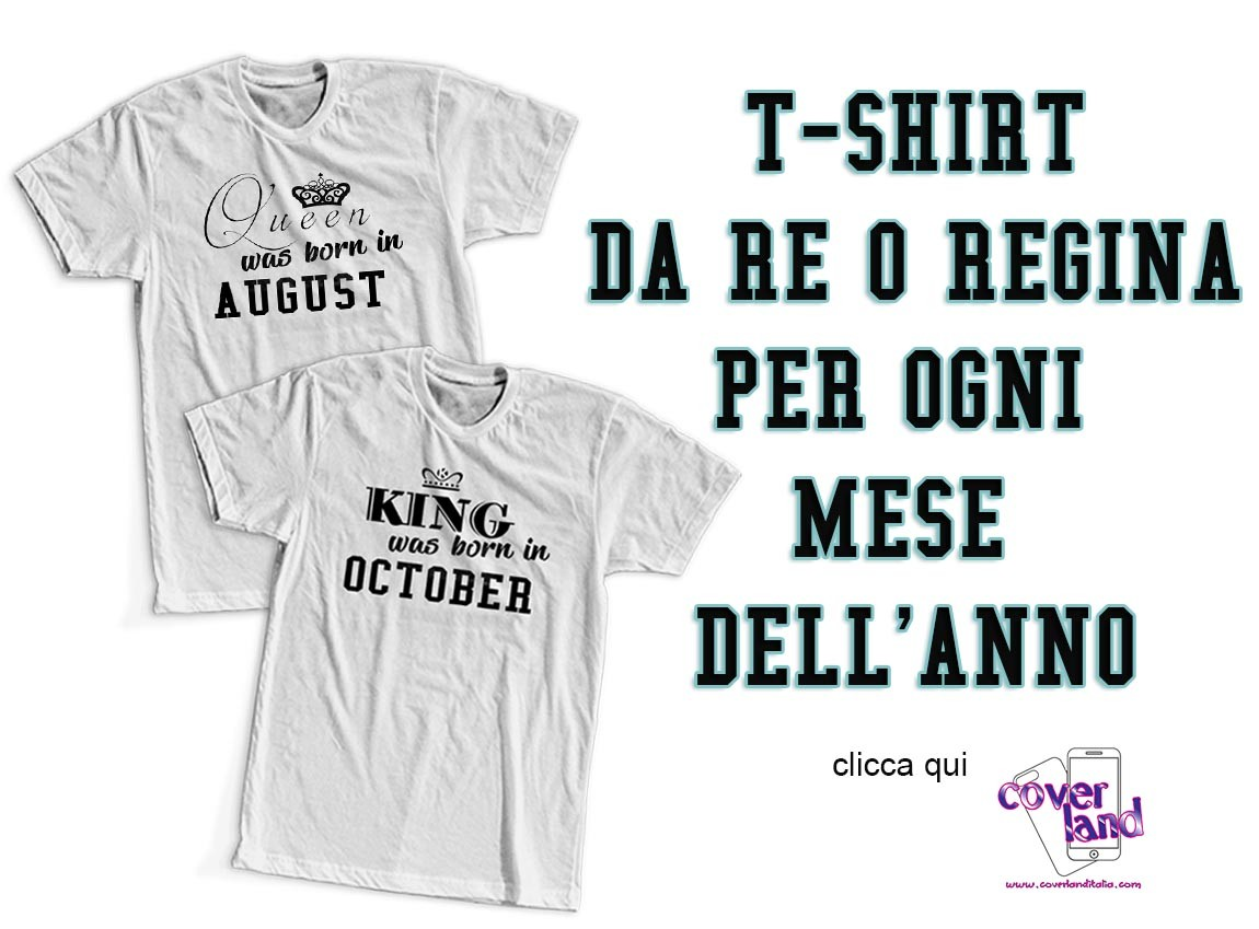 T-Shirt King&Queen was born in